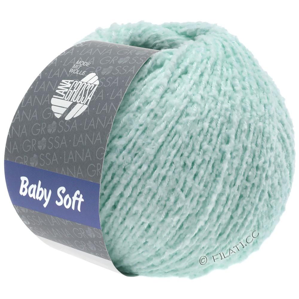 Lana Grossa BABY SOFT | 09-мятно-бирюзовый