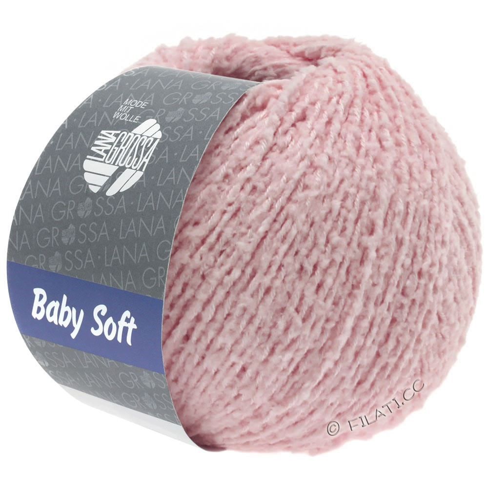 Lana Grossa BABY SOFT | 13-розовый