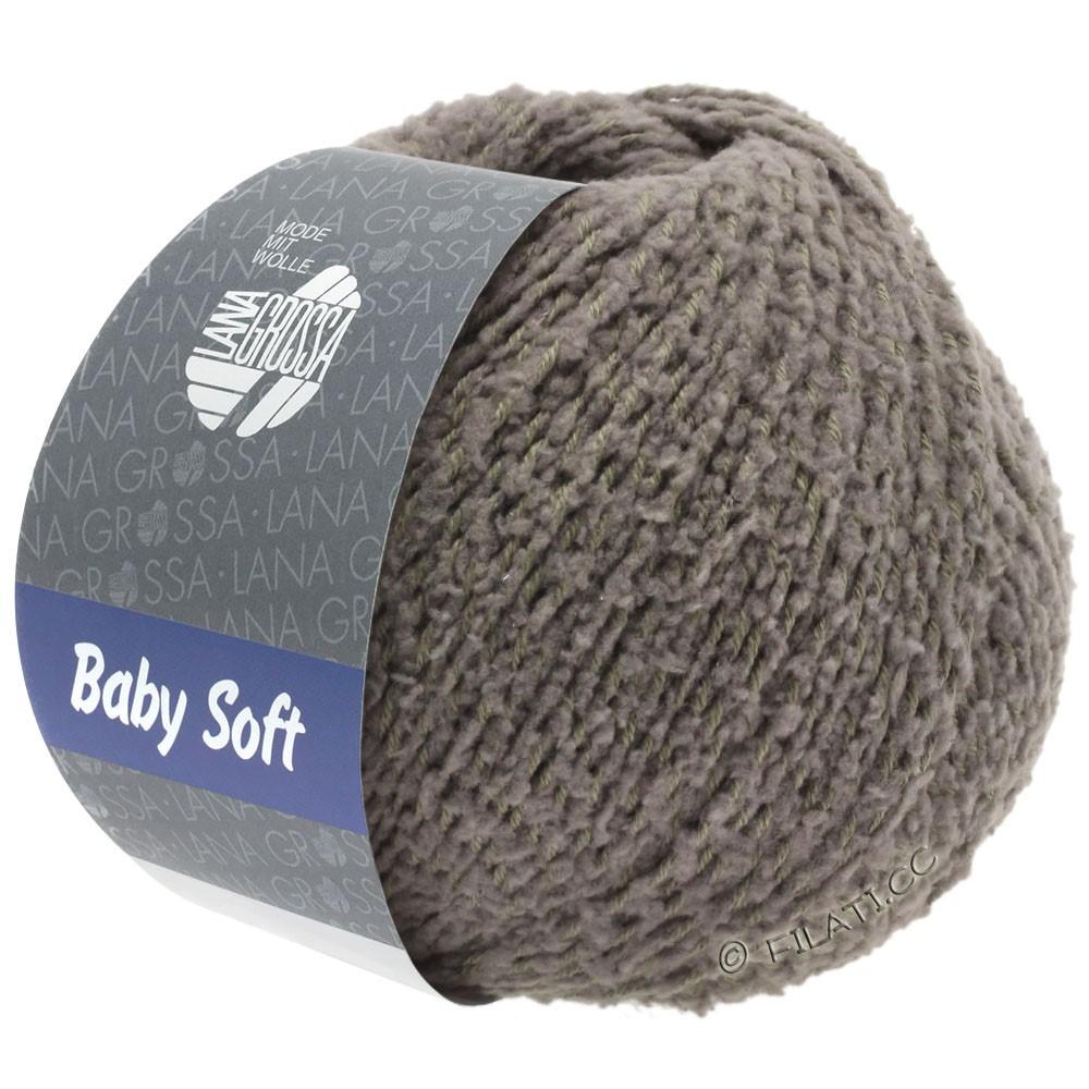 Lana Grossa BABY SOFT | 14-серо-коричневый