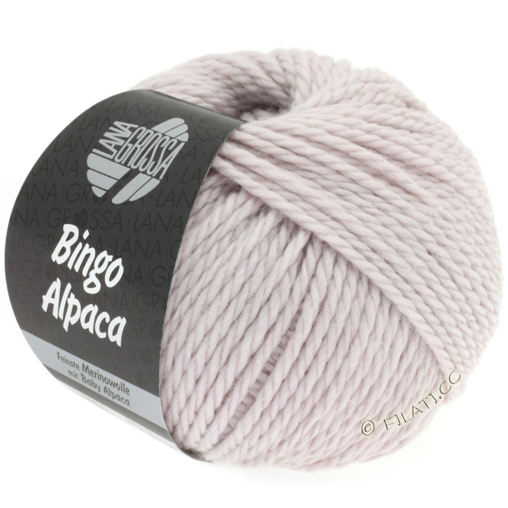 Lana Grossa BINGO ALPACA Uni | 02-мягко-фиолетовый