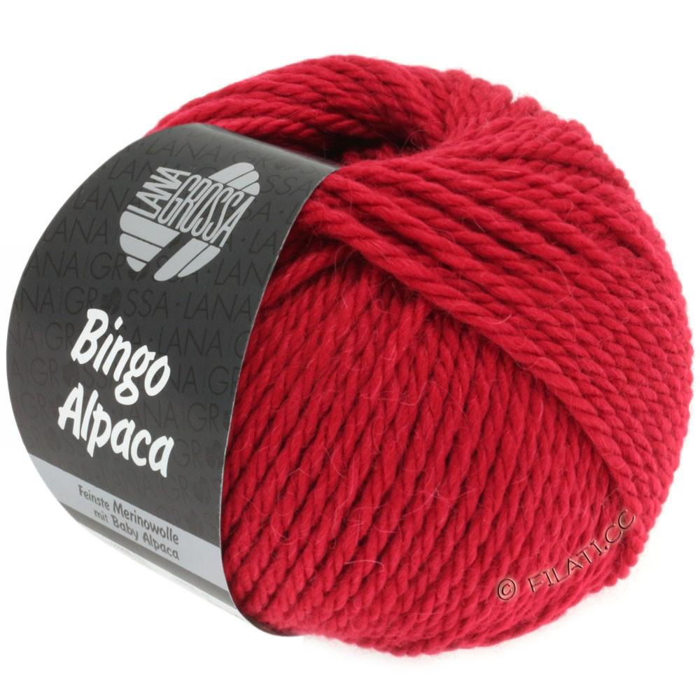 Lana Grossa BINGO ALPACA Uni | 05-красный