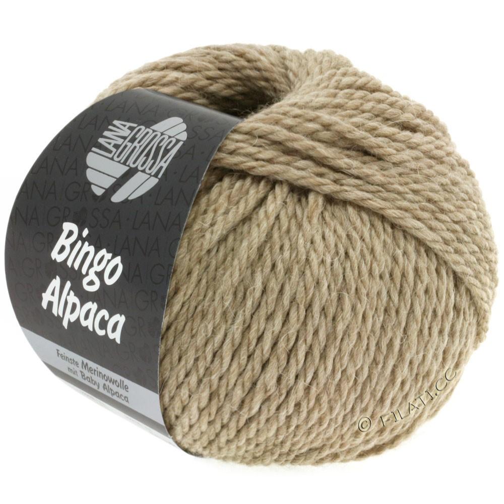 Lana Grossa BINGO ALPACA Uni | 07-серо-коричневый