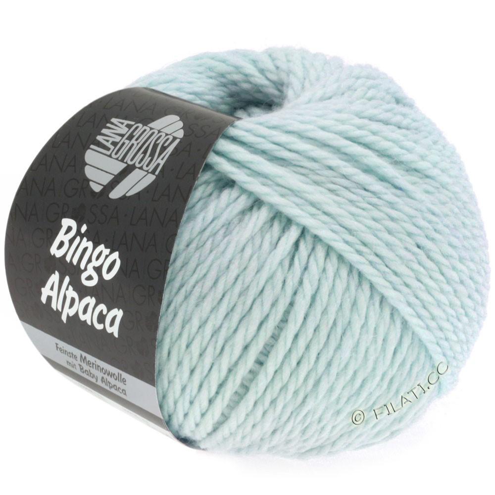 Lana Grossa BINGO ALPACA Uni | 08-светло-голубой