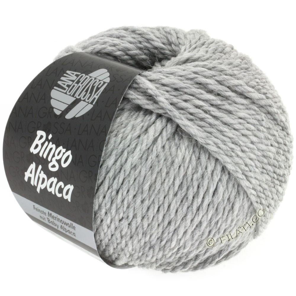 Lana Grossa BINGO ALPACA Uni | 12-серый