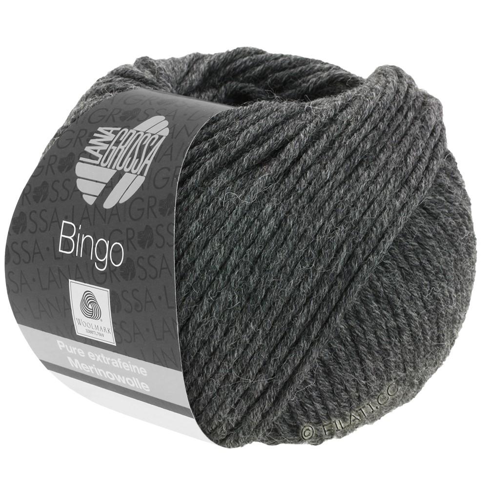 Lana Grossa BINGO  Uni/Melange/Print уни/меланж/принт | 004-антрацитовый