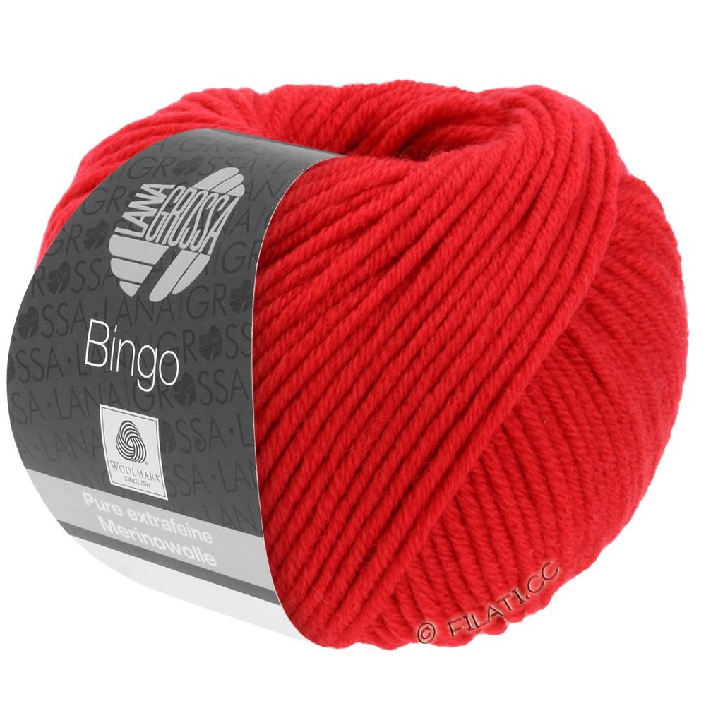 Lana Grossa BINGO  Uni/Melange/Print уни/меланж/принт | 020-светящийся красный
