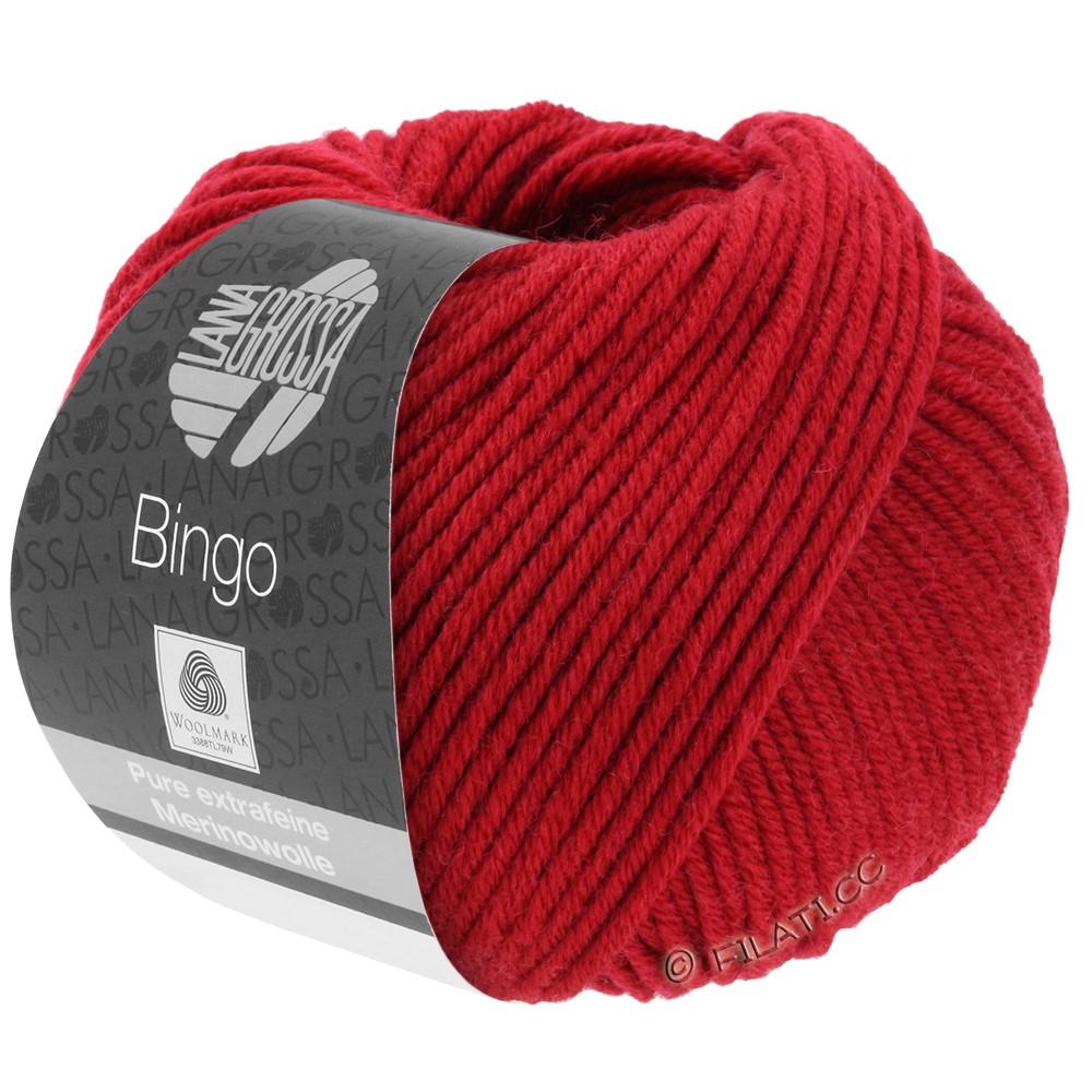Lana Grossa BINGO  Uni/Melange/Print уни/меланж/принт | 044-красная вишня