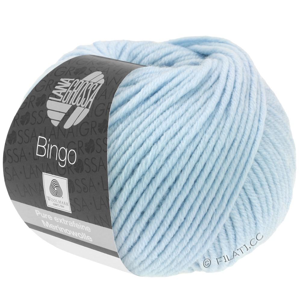 Lana Grossa BINGO  Uni/Melange/Print уни/меланж/принт | 056-зеленовато-голубой