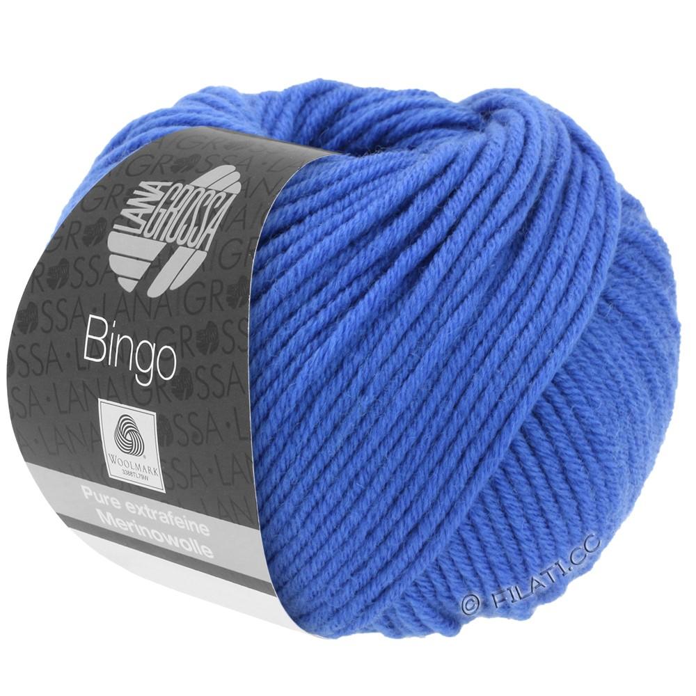 Lana Grossa BINGO  Uni/Melange/Print уни/меланж/принт | 090-синий кобальт