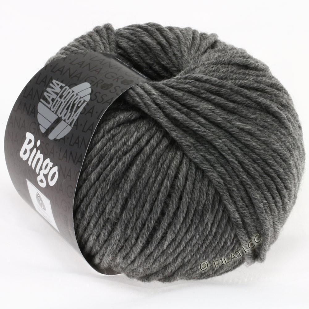 Lana Grossa BINGO  Uni/Melange/Print уни/меланж/принт | 120-тёмно-серый меланжевый