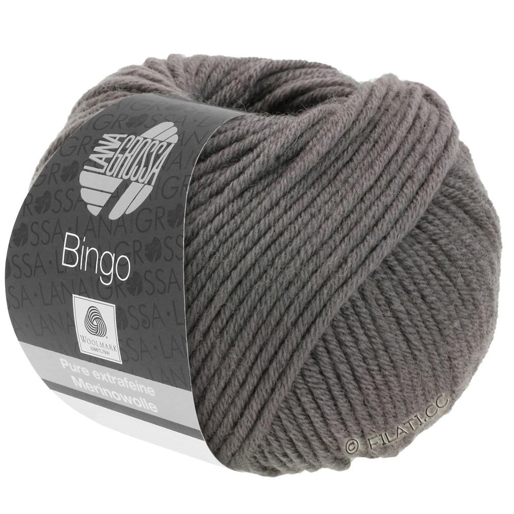 Lana Grossa BINGO  Uni/Melange/Print уни/меланж/принт | 129-серо-коричневый