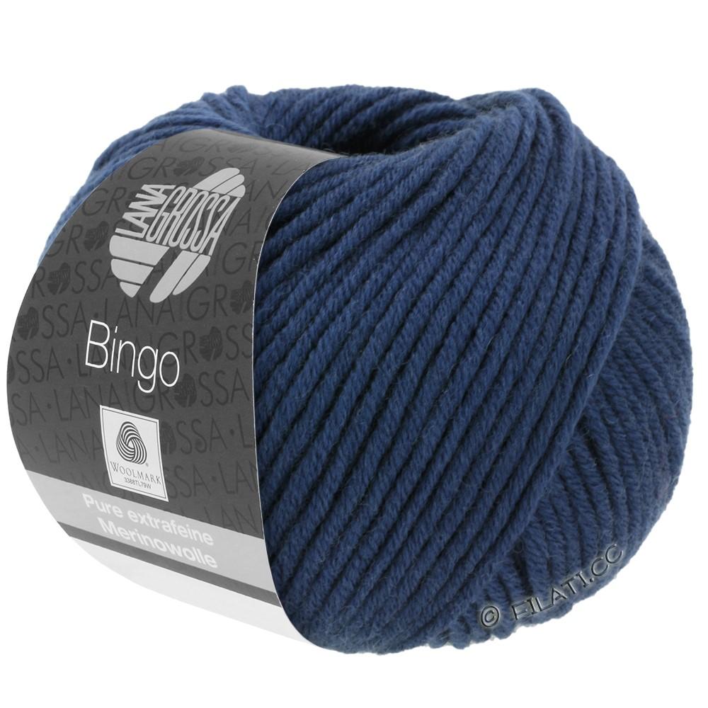 Lana Grossa BINGO  Uni/Melange/Print уни/меланж/принт | 147-тёмно-синий