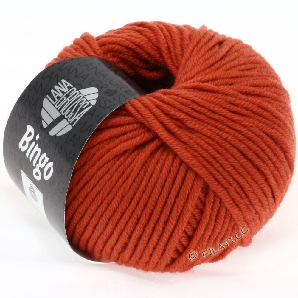 Lana Grossa BINGO  Uni/Melange/Print уни/меланж/принт | 155-цвет ржавчины