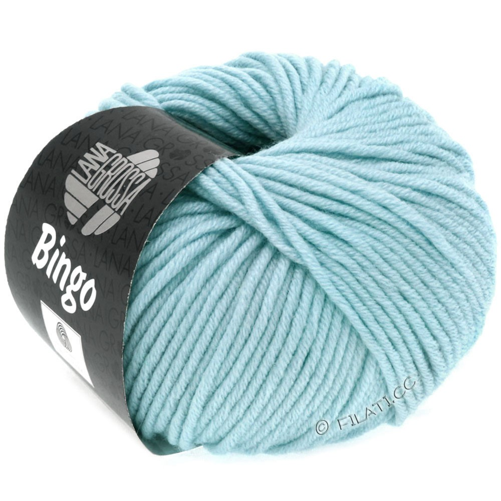 Lana Grossa BINGO  Uni/Melange/Print уни/меланж/принт   172-светло-голубой