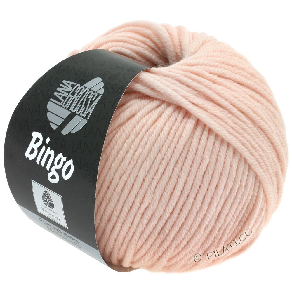 Lana Grossa BINGO  Uni/Melange/Print уни/меланж/принт | 177-пудра