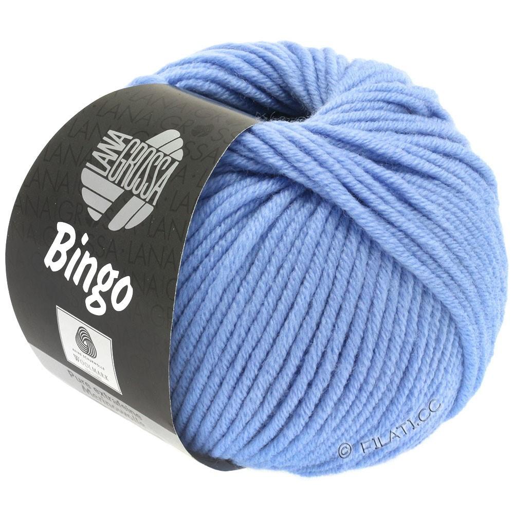 Lana Grossa BINGO  Uni/Melange/Print уни/меланж/принт | 178-синяя фиалка