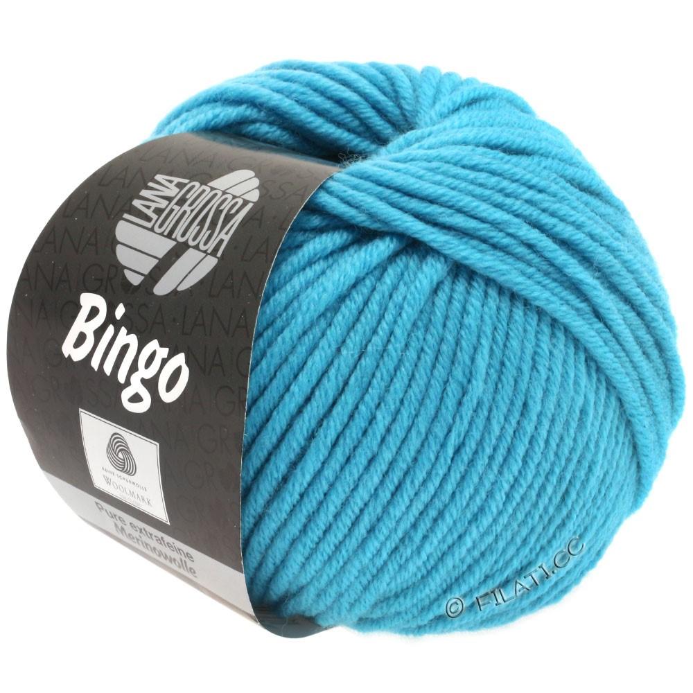 Lana Grossa BINGO  Uni/Melange/Print уни/меланж/принт | 182-голубой