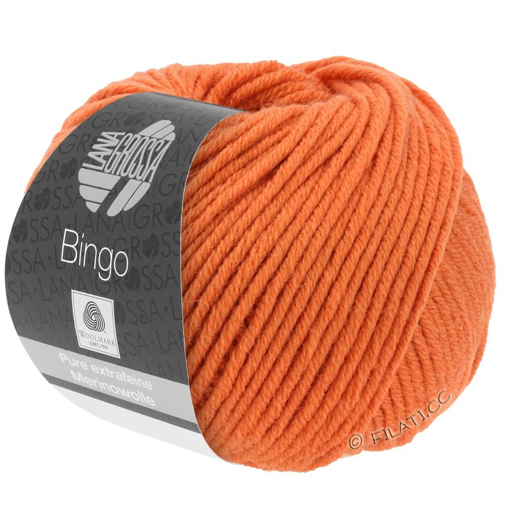 Lana Grossa BINGO  Uni/Melange/Print уни/меланж/принт | 183-оранжевый