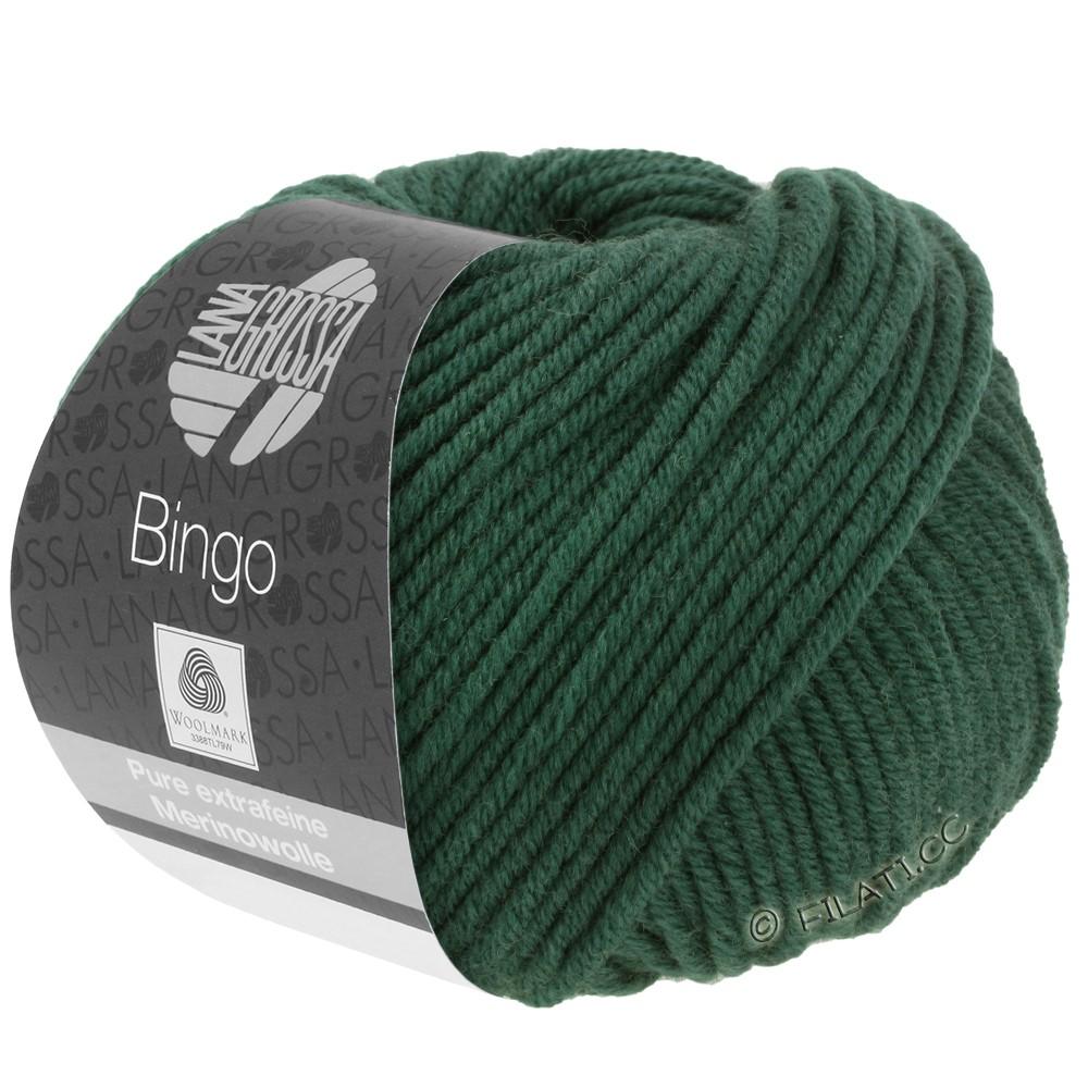 Lana Grossa BINGO  Uni/Melange/Print уни/меланж/принт | 189-тёмно-зелёный