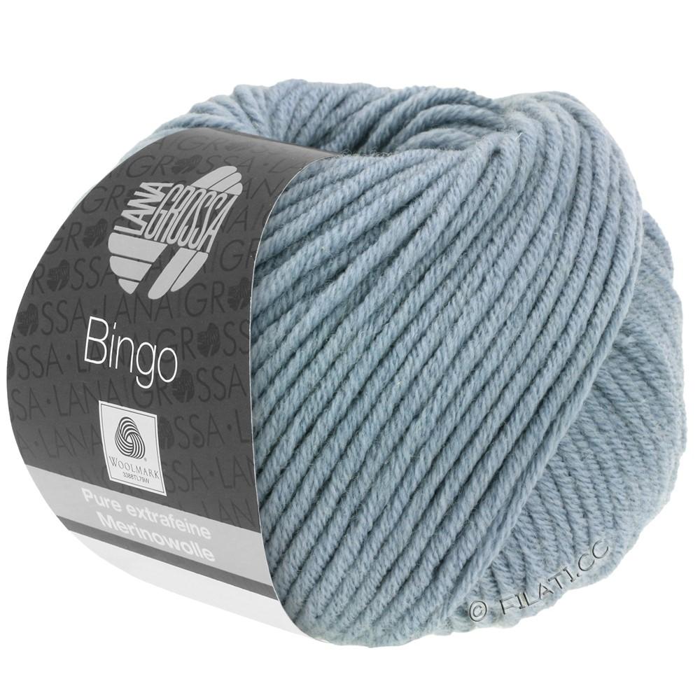 Lana Grossa BINGO  Uni/Melange/Print уни/меланж/принт | 190-серо-голубой