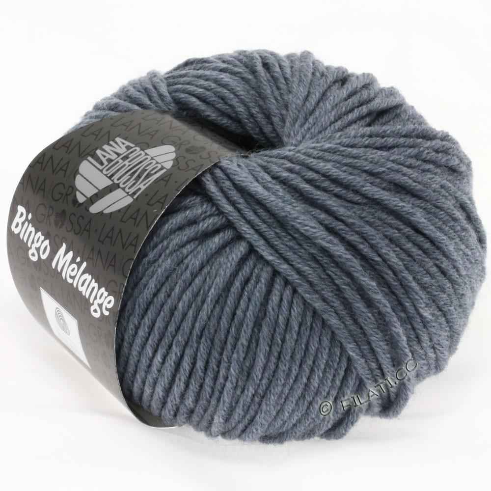 Lana Grossa BINGO  Uni/Melange/Print уни/меланж/принт | 204-серо-синий меланжевый