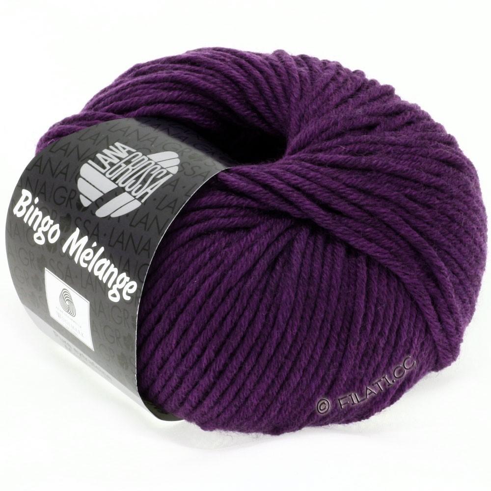 Lana Grossa BINGO  Uni/Melange/Print уни/меланж/принт | 229-тёмно-фиолетовый меланжевый