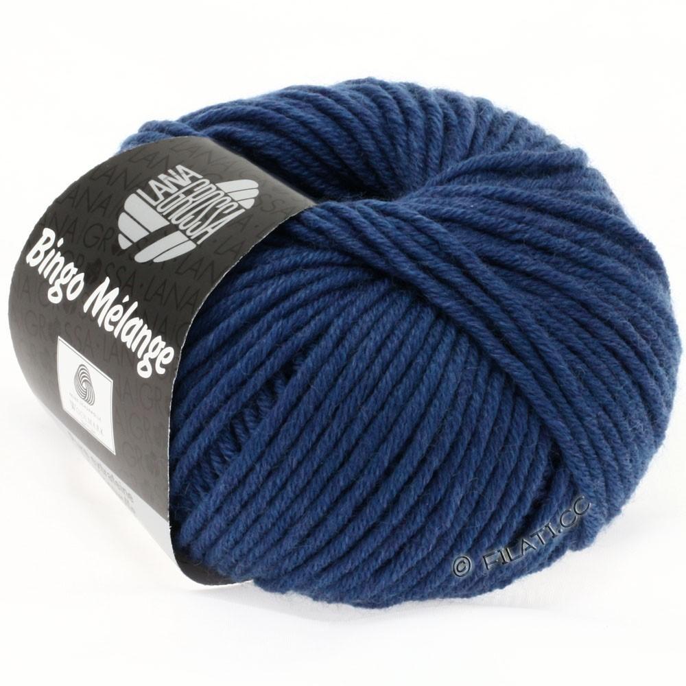 Lana Grossa BINGO  Uni/Melange/Print уни/меланж/принт | 231-синий меланжевый