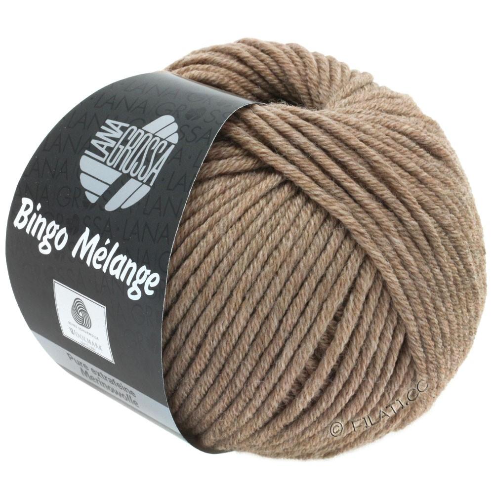 Lana Grossa BINGO  Uni/Melange/Print уни/меланж/принт | 239-коричневый меланжевый