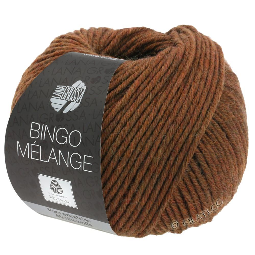Lana Grossa BINGO  Uni/Melange/Print уни/меланж/принт | 241-каштановый меланжевый
