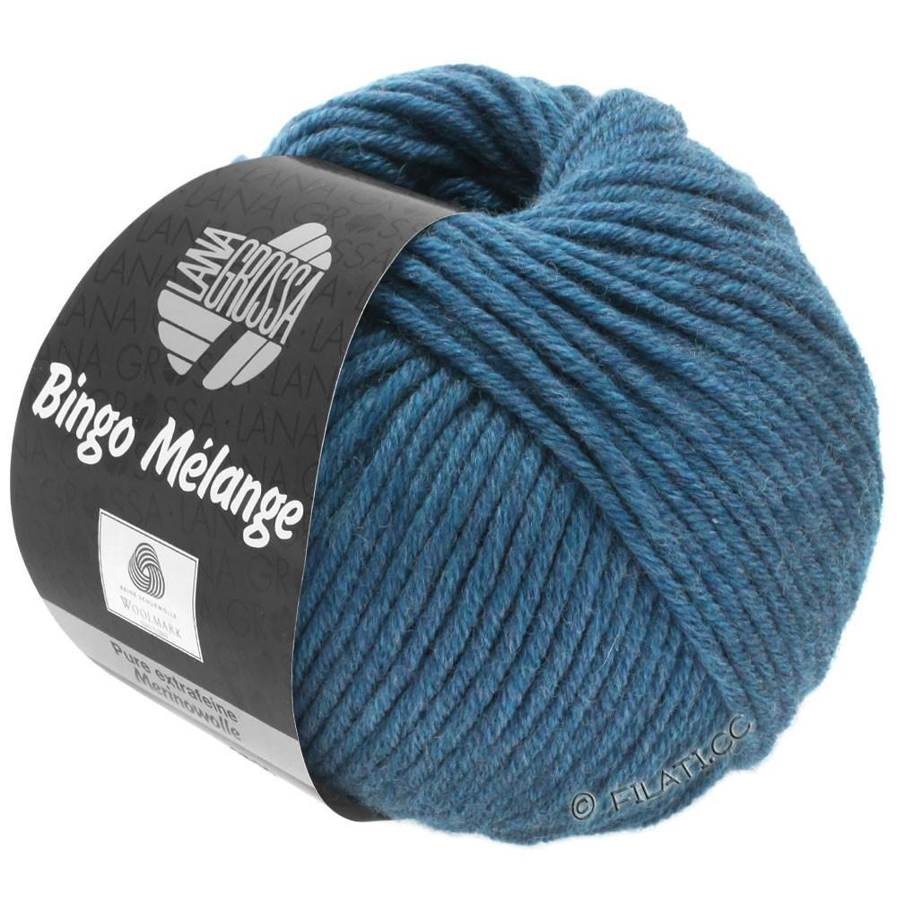 Lana Grossa BINGO  Uni/Melange/Print уни/меланж/принт | 244-тёмно-синий меланжевый