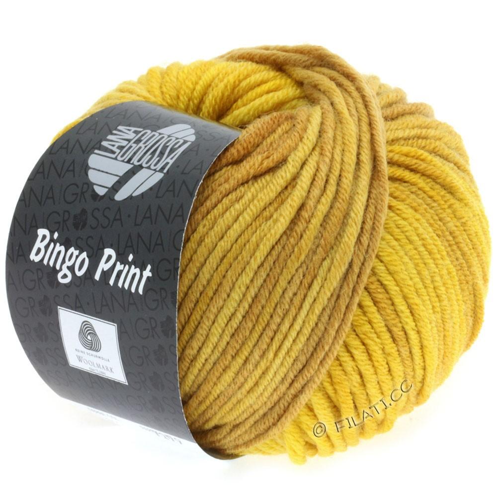 Lana Grossa BINGO Print принт | 616-горчично-желтый/карри