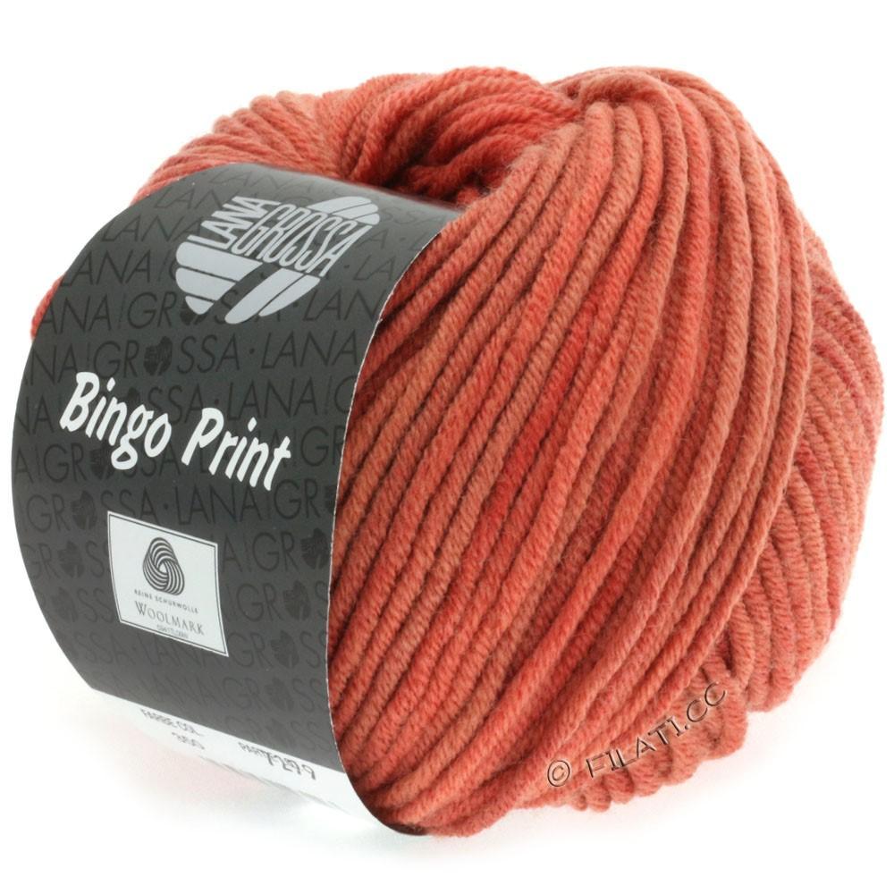 Lana Grossa BINGO Print принт | 617-коралловый/цвет ржавчины