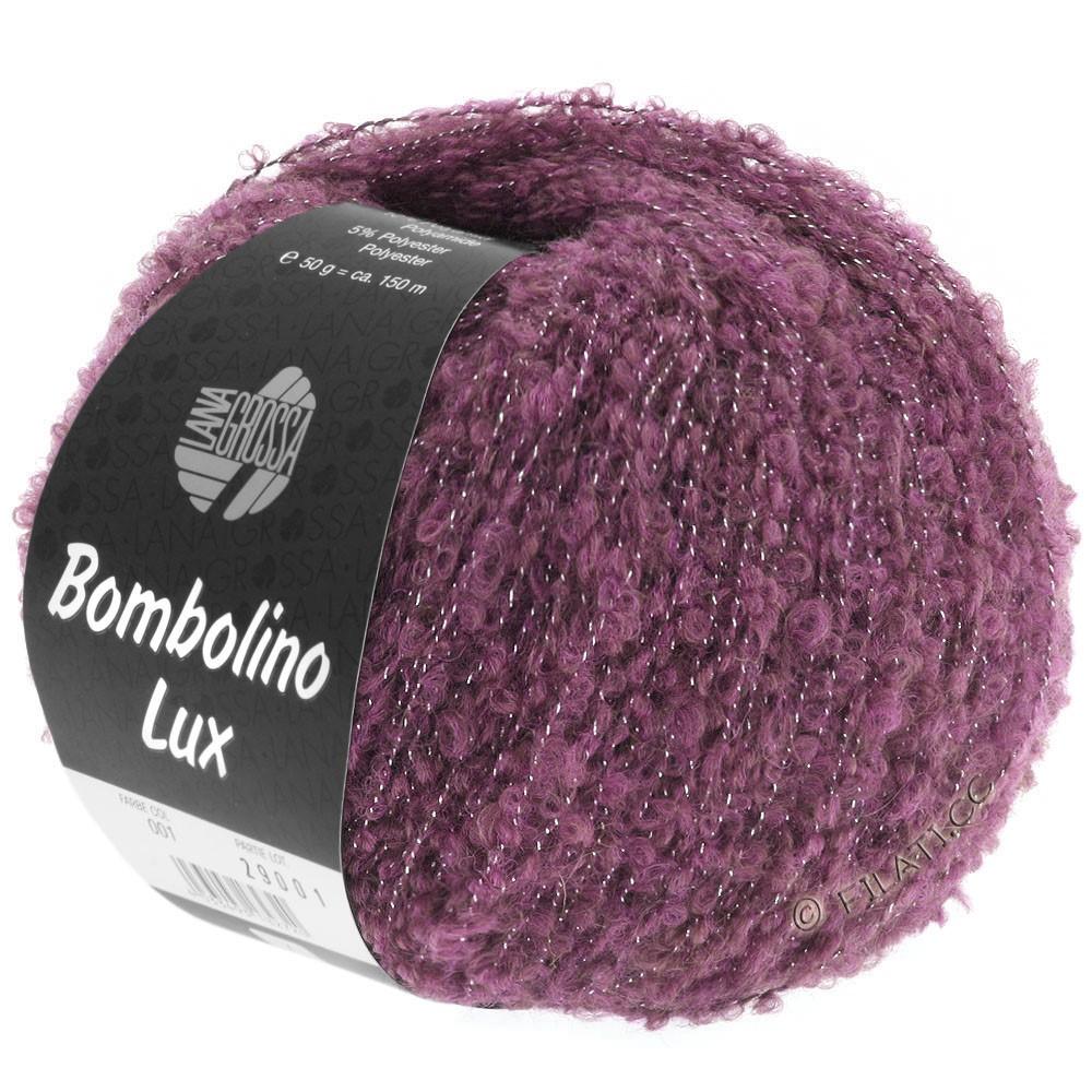 Lana Grossa BOMBOLINO Lux | 003-сирень/серебряный