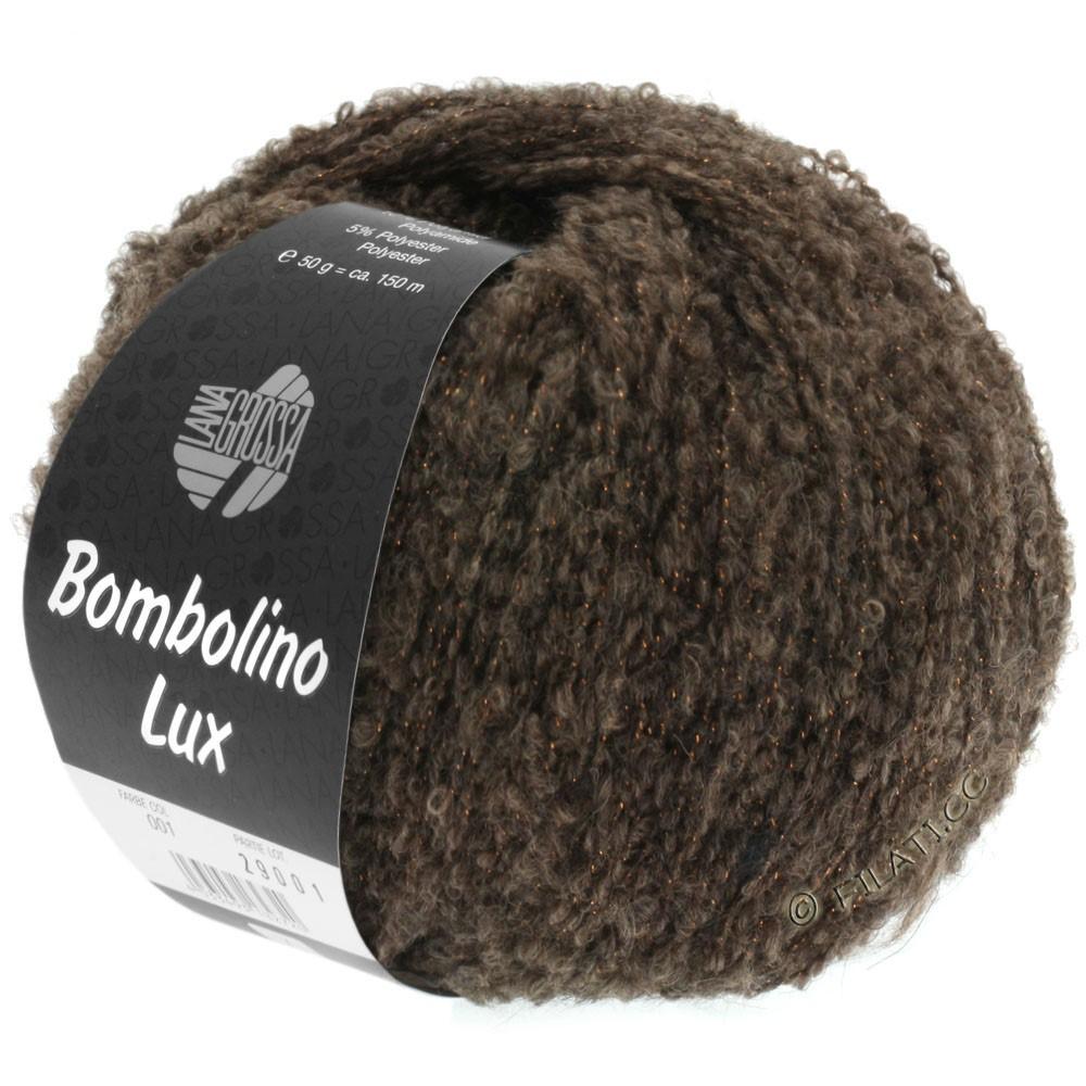 Lana Grossa BOMBOLINO Lux | 004-коричневый/медь
