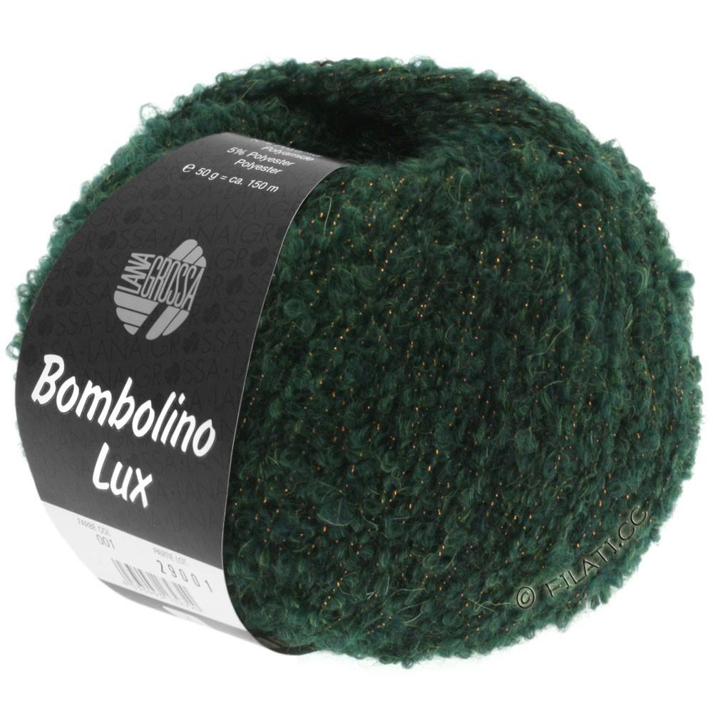 Lana Grossa BOMBOLINO Lux | 010-пихта/медь