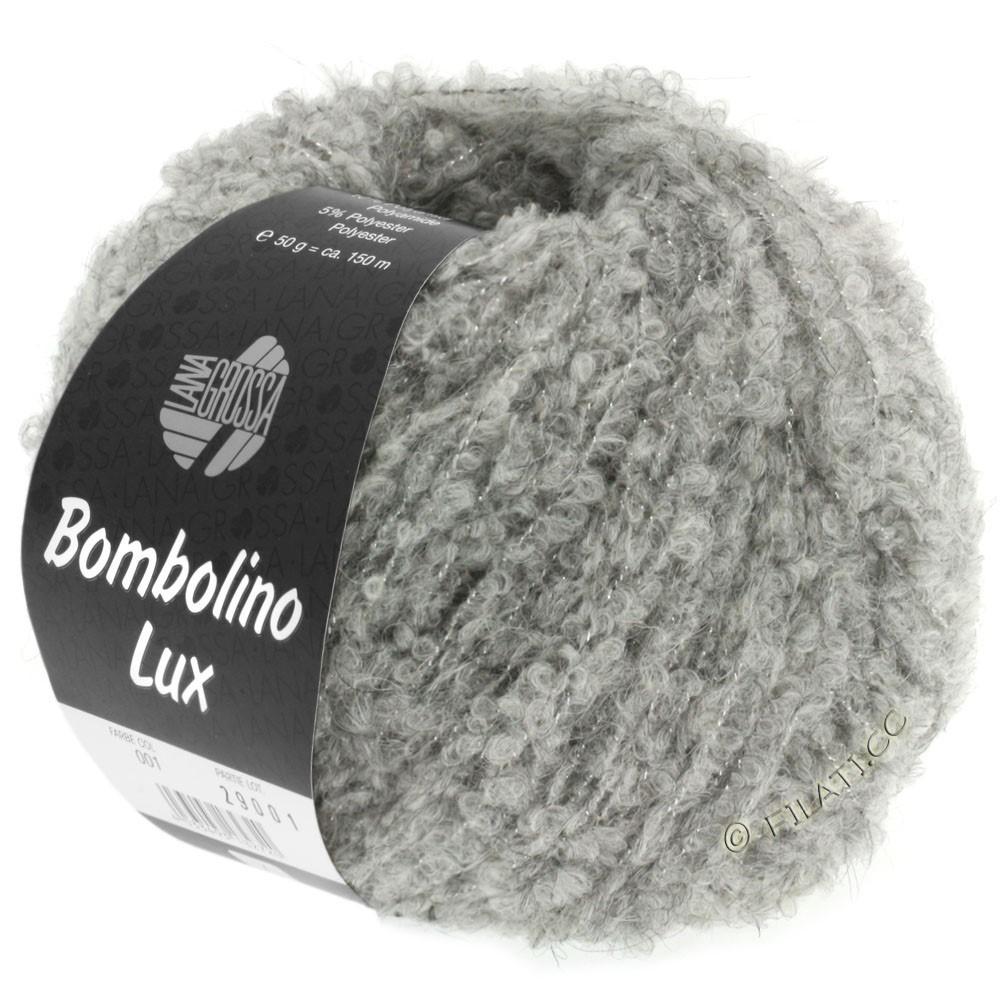 Lana Grossa BOMBOLINO Lux | 012-светло-серый/серебряный