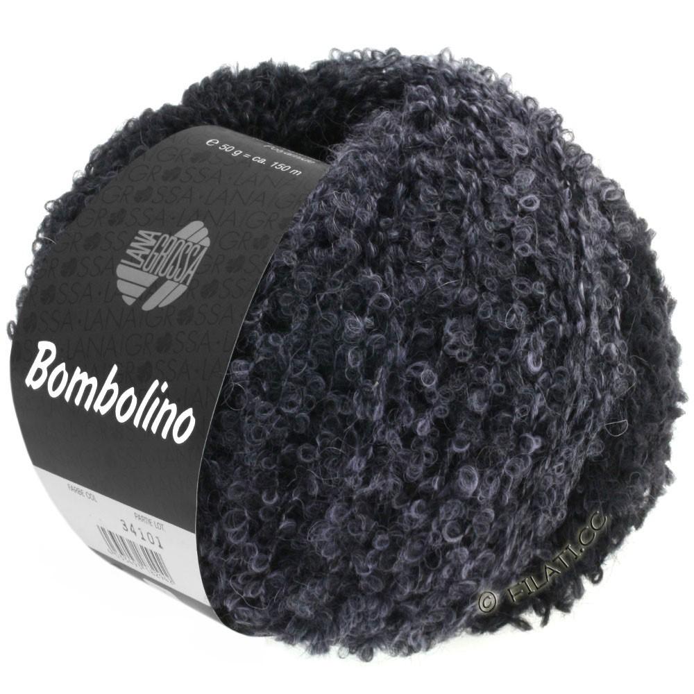 Lana Grossa BOMBOLINO Degradé | 110-светло-серый/антрацитовый/чёрный
