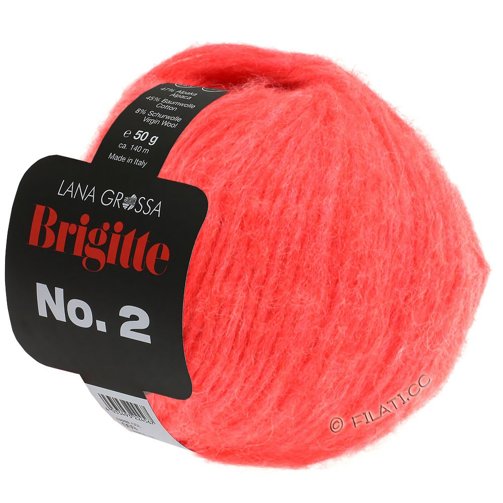 Lana Grossa BRIGITTE NO. 2 | 11-коралловый
