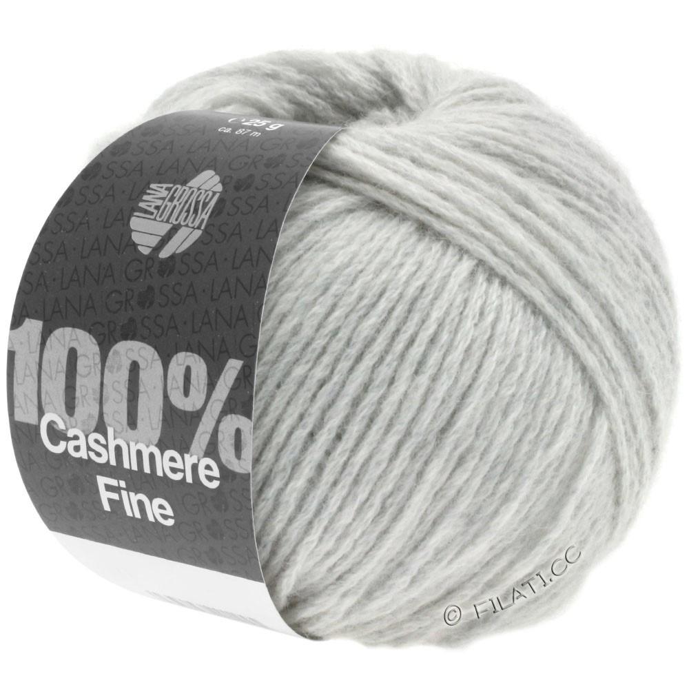 Lana Grossa 100% Cashmere Fine | 01-серебристо-серый