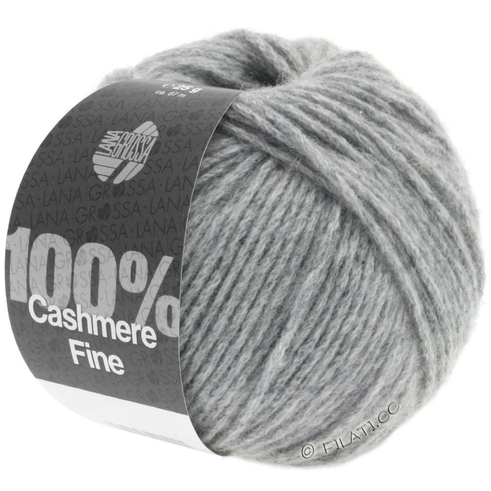 Lana Grossa 100% Cashmere Fine | 03-светло-серый