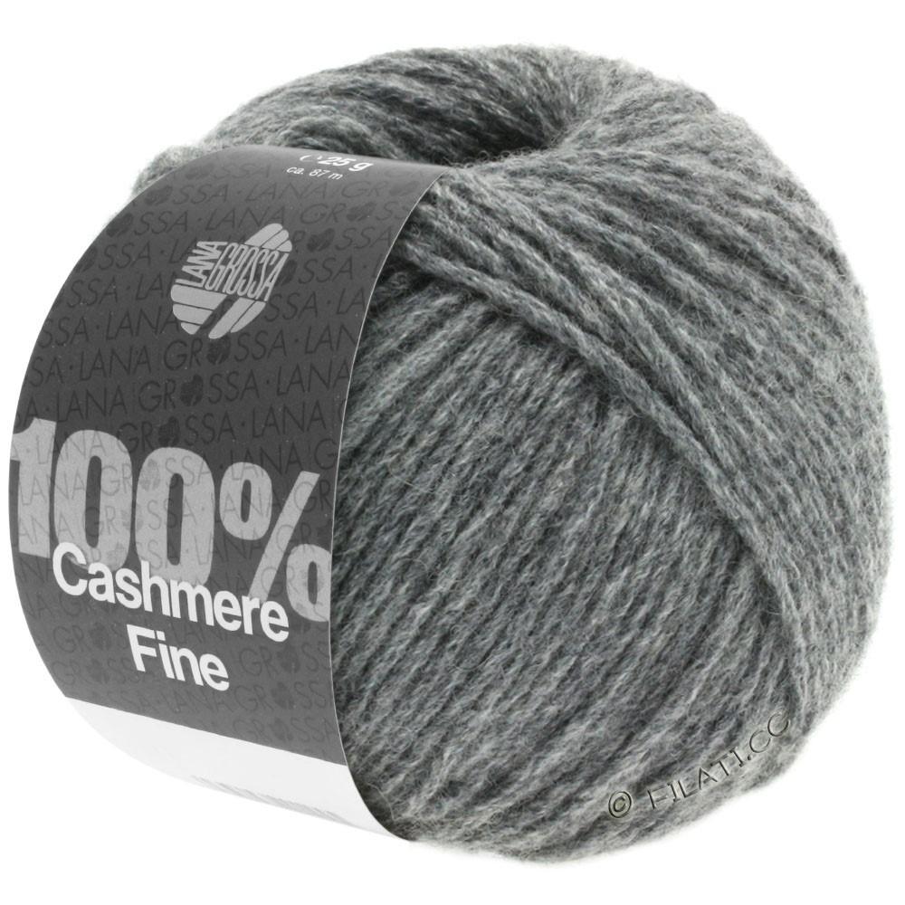 Lana Grossa 100% Cashmere Fine | 04-тёмно-серый