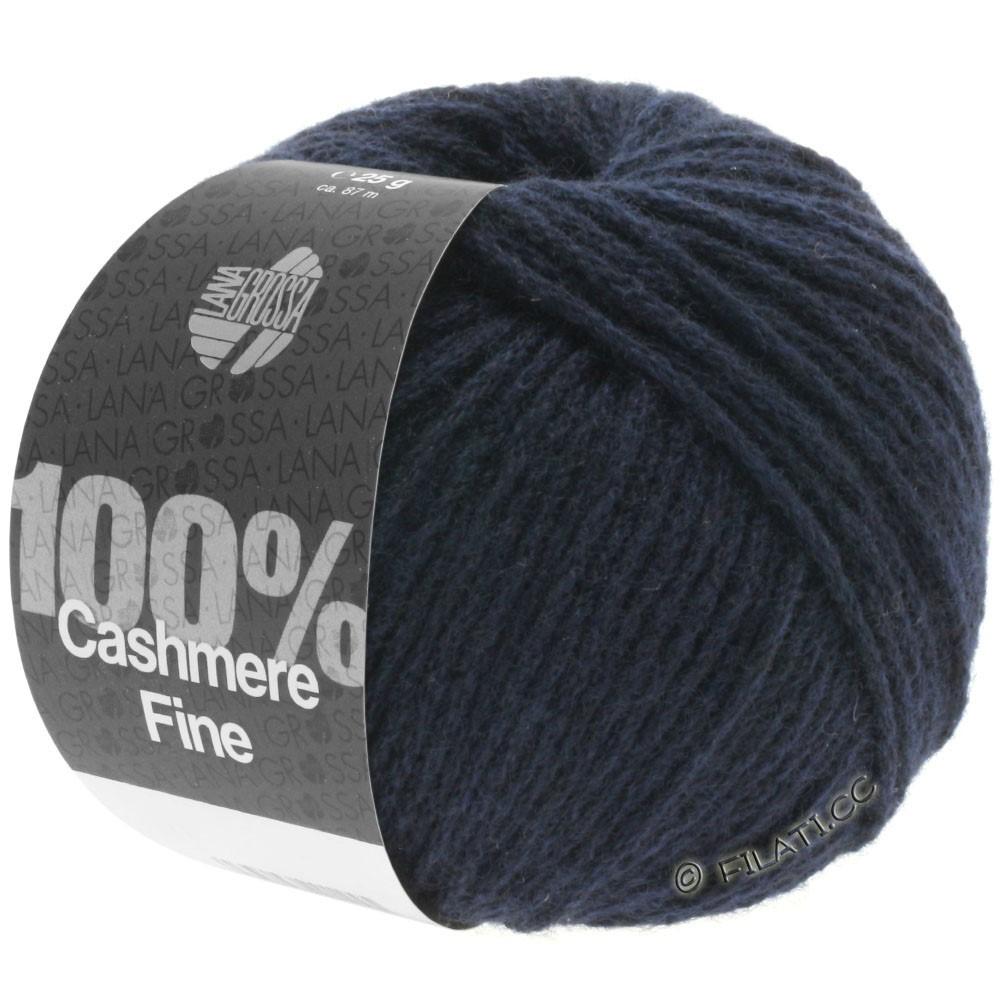Lana Grossa 100% Cashmere Fine | 09-тёмно-синий