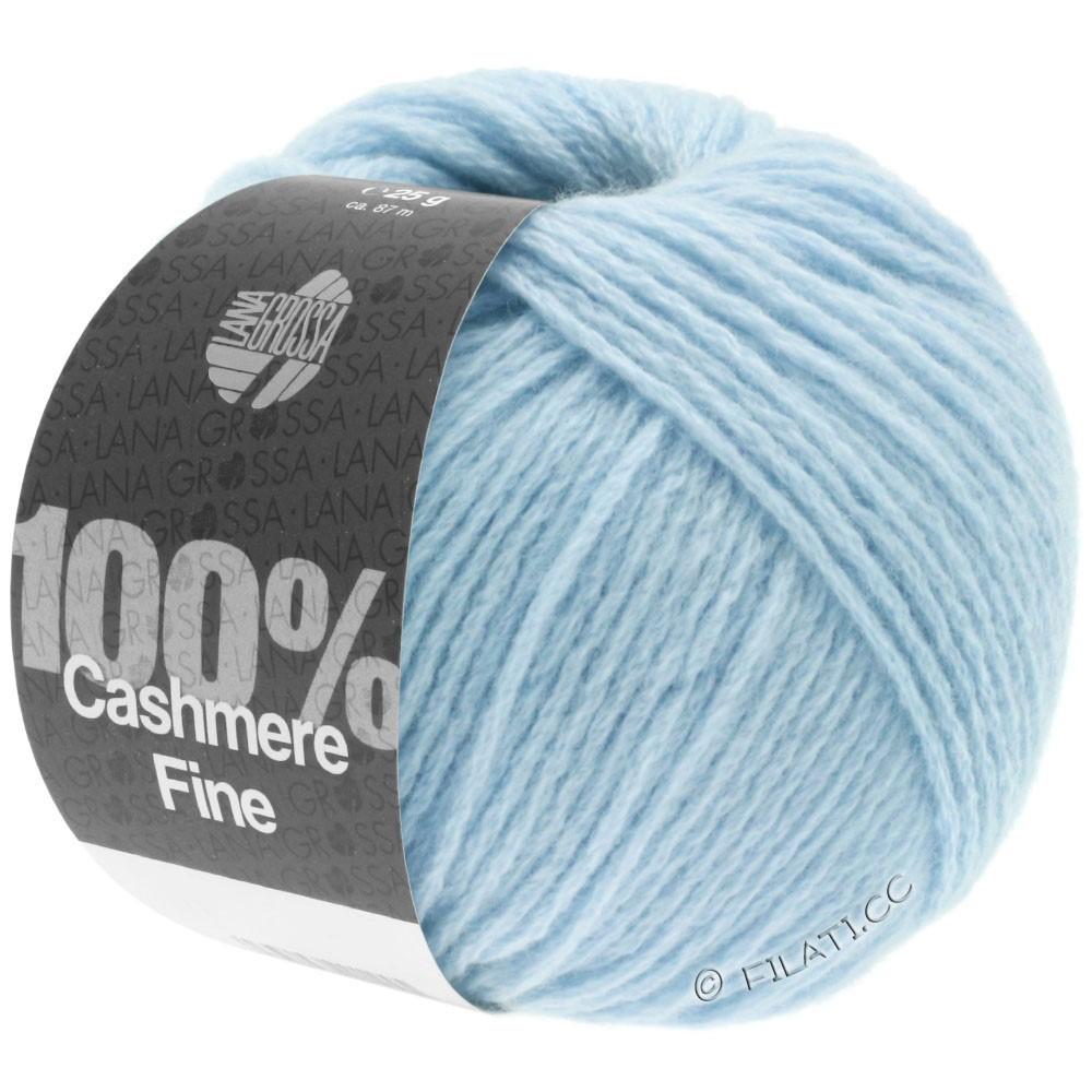 Lana Grossa 100% Cashmere Fine | 12-светло-голубой