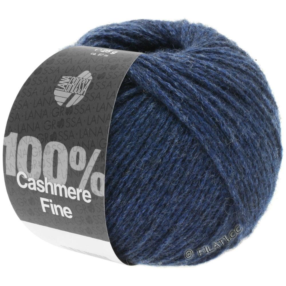 Lana Grossa 100% Cashmere Fine | 18-тёмно-синий