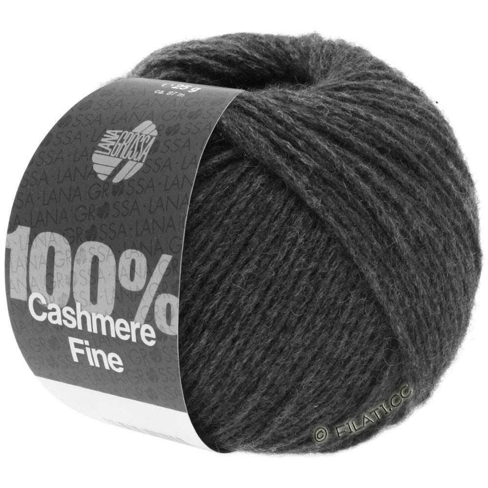 Lana Grossa 100% Cashmere Fine | 21-антрацитовый