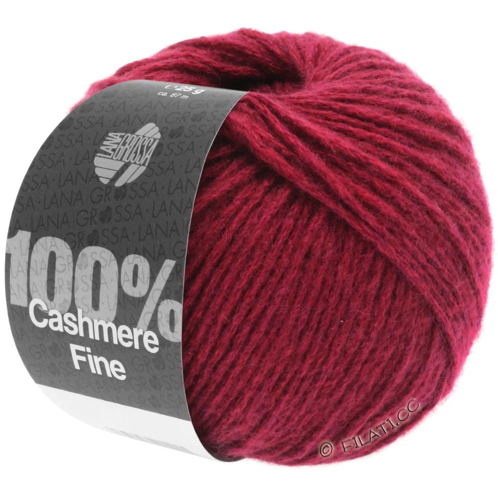 Lana Grossa 100% Cashmere Fine | 22-красное вино