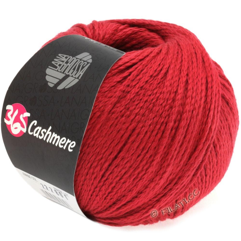 Lana Grossa 365 CASHMERE | 07-рубиново-красный