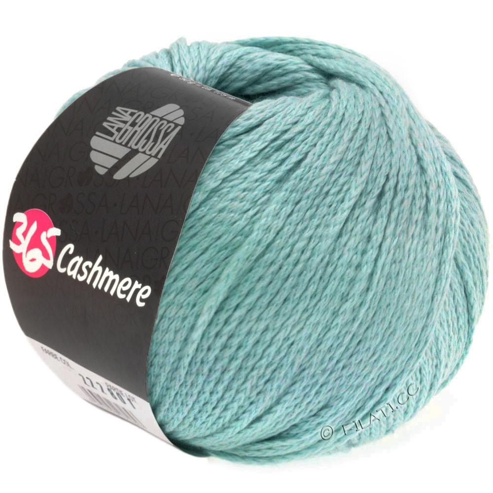 Lana Grossa 365 CASHMERE | 21-зеленовато-голубой