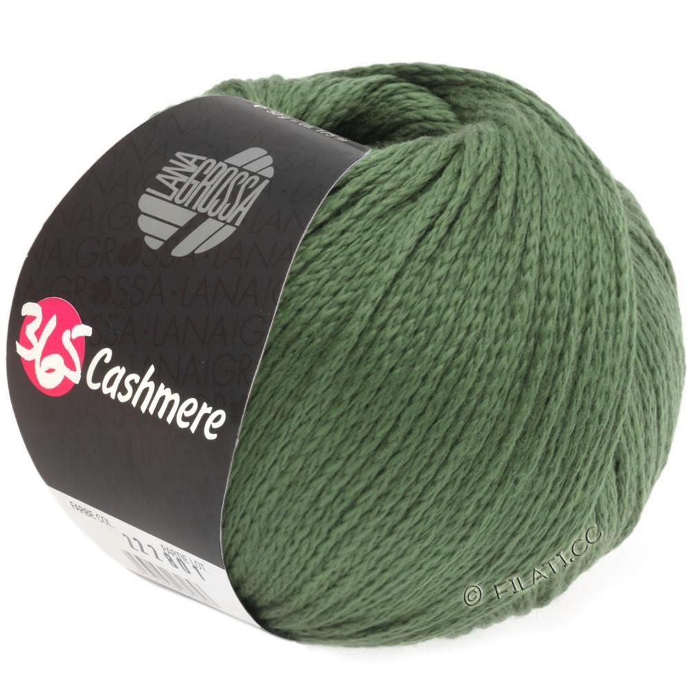 Lana Grossa 365 CASHMERE | 37-мох зеленый