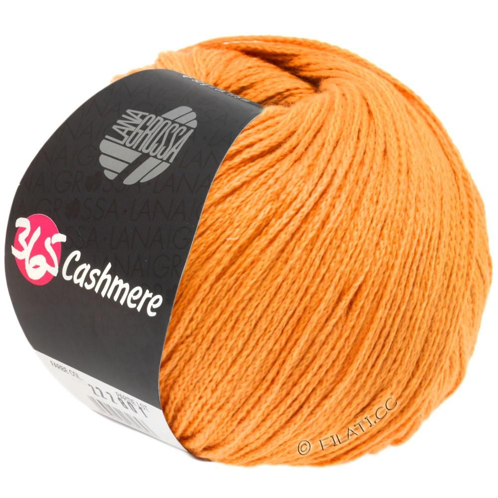 Lana Grossa 365 CASHMERE | 39-оранжевый